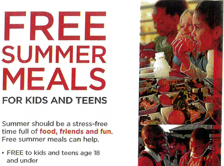 Twin River Schools - Free Summer Meals for Kids and Teens